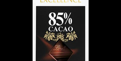 Tablette chocolat noir 85% Lindt Excellence 100g