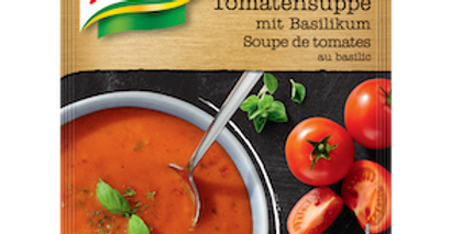 Soupe suprème tomate/basilic Knorr 132g