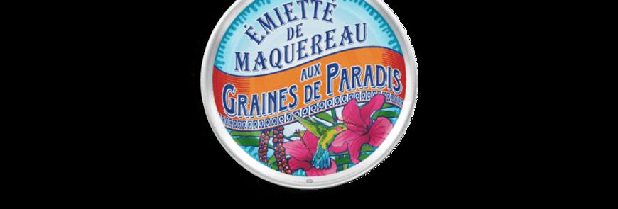 Emietté de maquereaux aux graines de paradis la belle-iloise 80g