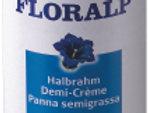 Demi-crème non sucrée en bombe Floralp 250g