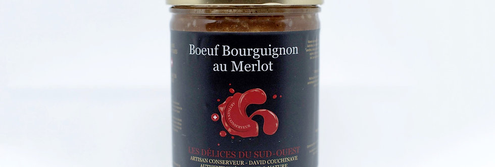 Boeuf Bourguignon au Merlot David Couchinave 780g