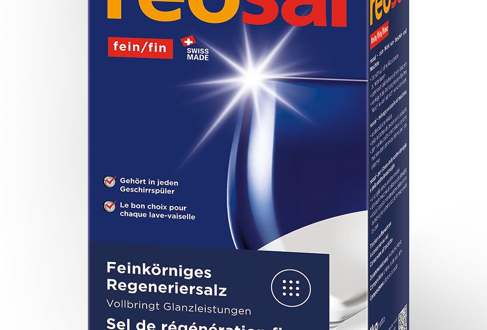 Sel de régénération fin pour lave-vaisselle Reosal 1kg