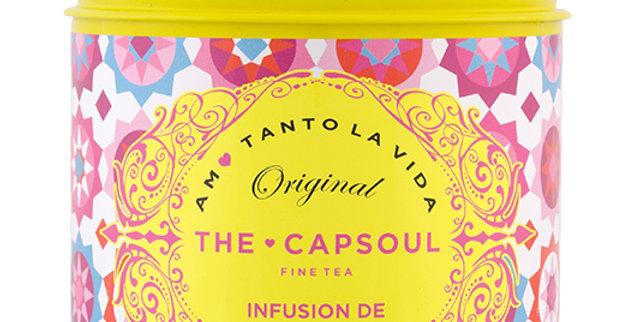 Thé infusion de fruits rouges Capsoul 100g