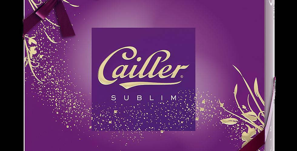 Boîte chocolat Sublim pralinés Cailler 198g