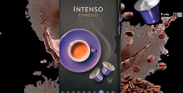 Capsules compatibles Nespresso espresso intenso Mövenpick 10pces