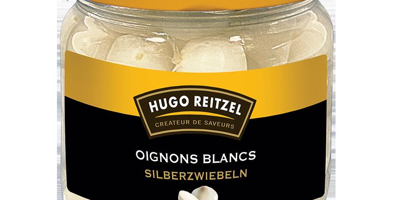 Oignons blancs Hugo Reitzel 230g