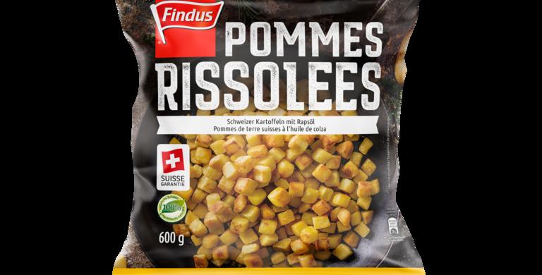 Pommes de terre rissolées suisse garantie Findus 600g