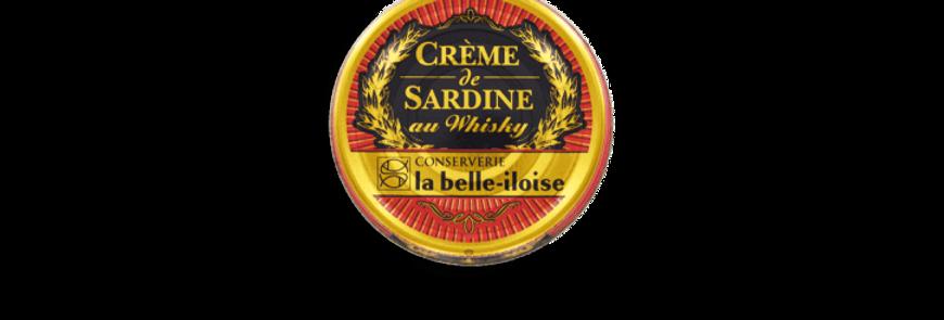 Crème de sardine au Whisky la belle-iloise 60g