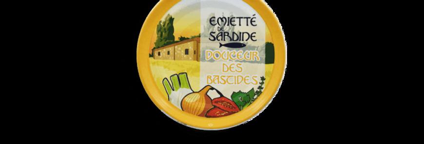 Émietté de sardine Douceur des bastides la belle-iloise 80g