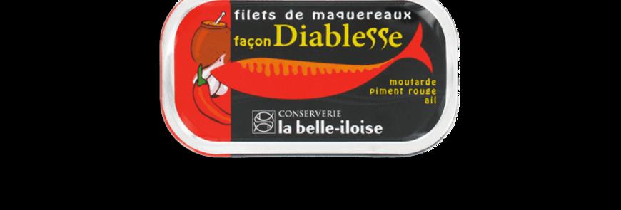 Filets de maquereaux façon Diablesse la belle-iloise 112.5g