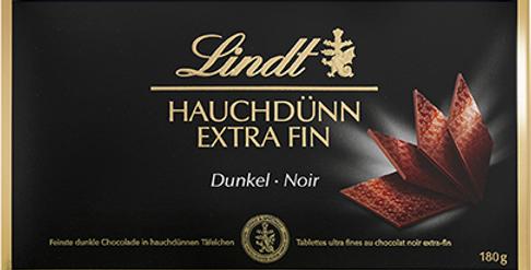 Boîte chocolat noir extra fin Lindt 180g
