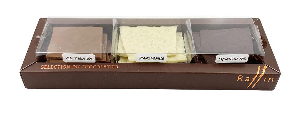 Sélection de chocolats Raffin 200g