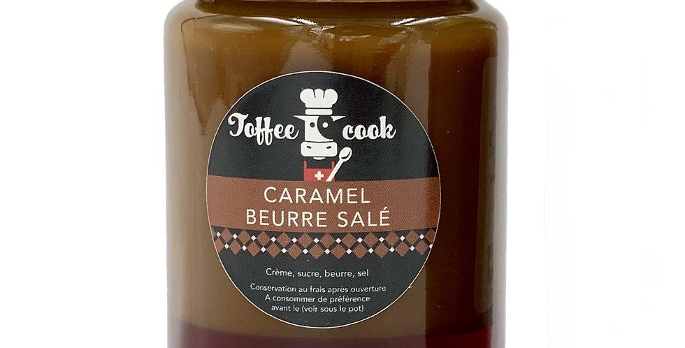 Pâte à tartiner caramel beurre salé Toffee cook 160g