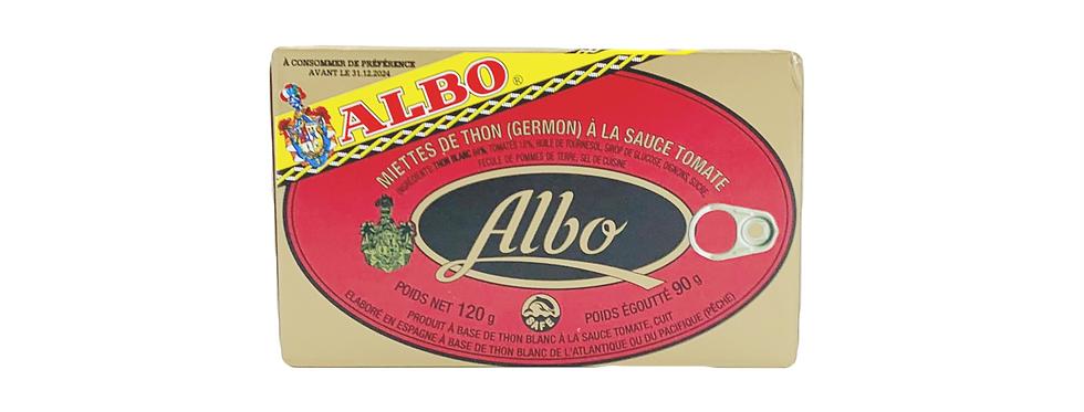 Thon tomate Albo 120g