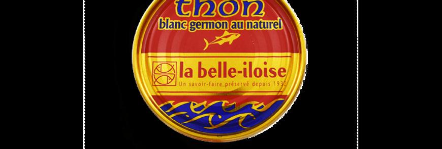 Thon blanc germon au naturel la belle-iloise