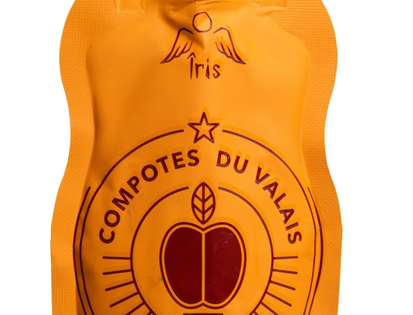 Snack compote pomme abricot Iris 100g