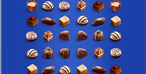 Boîte chocolat mini pralinés Lindt 180g