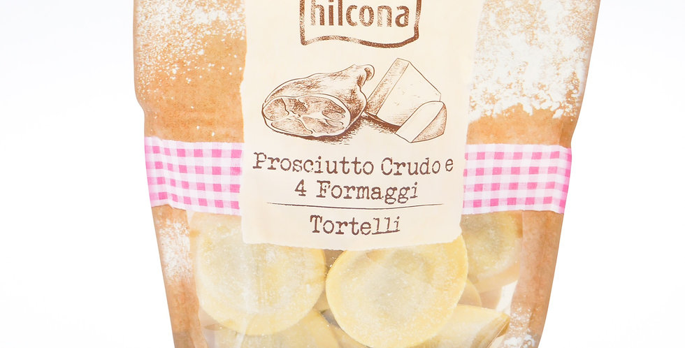 Tortellis frais jambon cru et 4 fromages Hilcona 250g