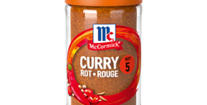 Curry rouge McCormick