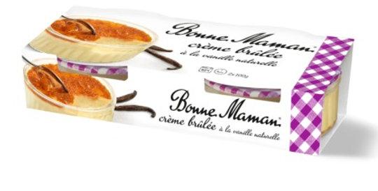 Dessert crème brûlée Bonne Maman 2 x 100g