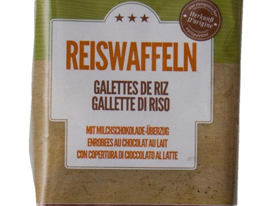 Galettes de riz enrobées chocolat Majestic 100g
