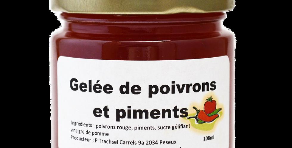 Gelée poivrons et piments 108ml