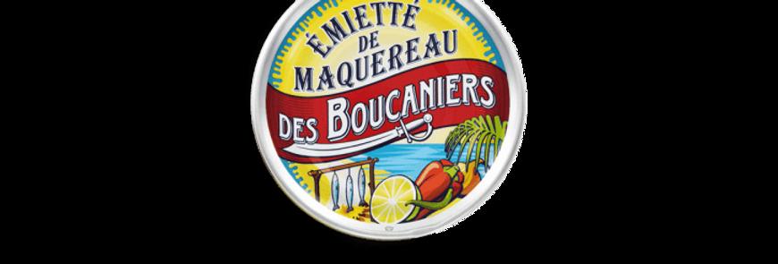 Emietté de maquereaux des Boucaniers la belle-iloise 80g