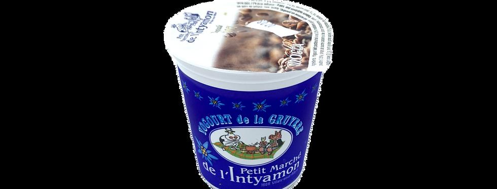 Yogourt marché Intyamon de la Gruyère mocca 150g