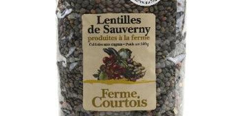 Lentilles vertes Sauverny 500g