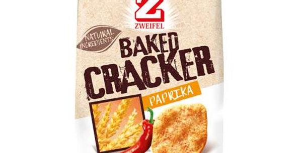 Chips baked cracker paprika Zweifel 95g