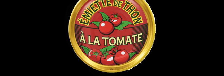Émietté de thon à la tomate la belle-iloise