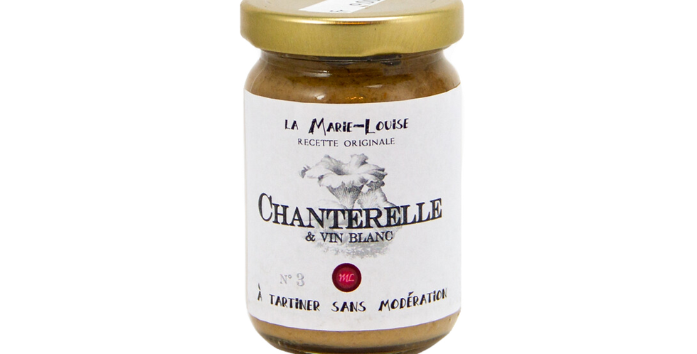 Sauce à tartiner n°3 Chanterelles Marie-Louise