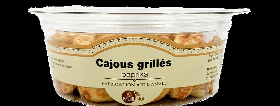 Cajous grillés paprika Multinuts 130g