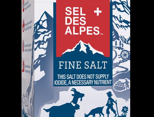 Sel des Alpes Saline de Bex 700g