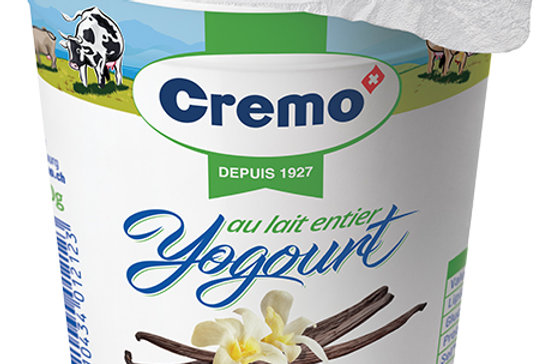 Yogourt caramel ferme 180g