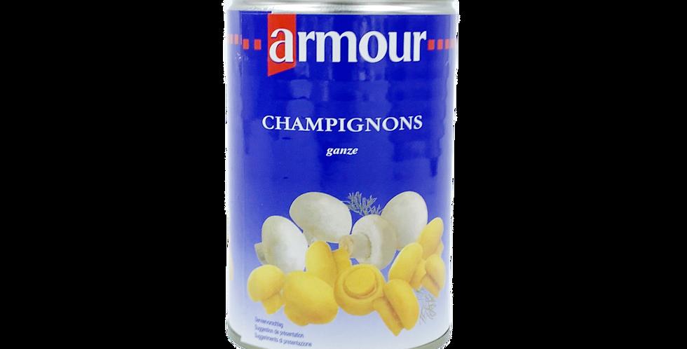 Champignons de Paris entiers Armour 425g