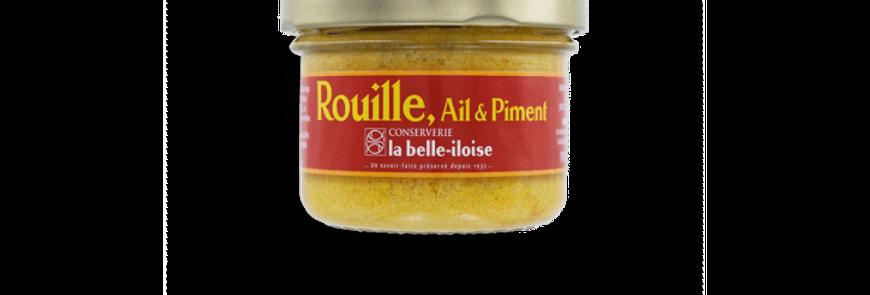 Sauce rouille aïl et piment la belle-iloise 80g