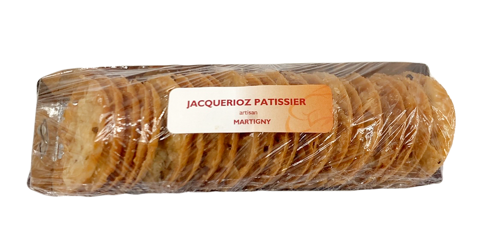 Biscuits tuiles Jacquérioz Patissier 100g