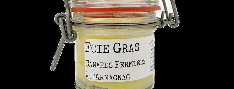 Foie gras canards fermiers à l'armagnac Chez Denis 80g