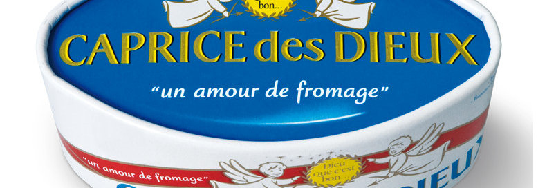 Fromage Caprice des Dieux 125g
