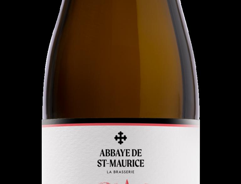 Bière ambrée Febris Abbaye de St-Maurice 33cl