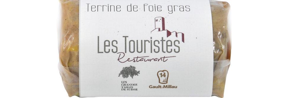 Terrine de foie gras Les touristes 200g