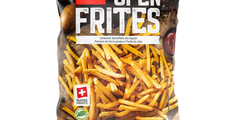 Frites au four suisse garantie Findus 600g