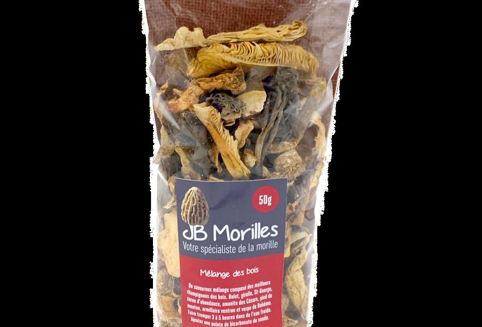 Mélange des bois JB Morilles 50g