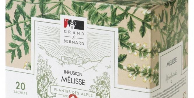 Tisane BIO mélisse Grand-St-Bernard 20 sachets
