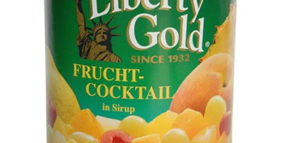 Cocktail de fruits conserve Liberty Gold 410g