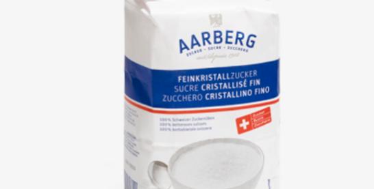 Sucre cristallisé fin Aarberg 1kg