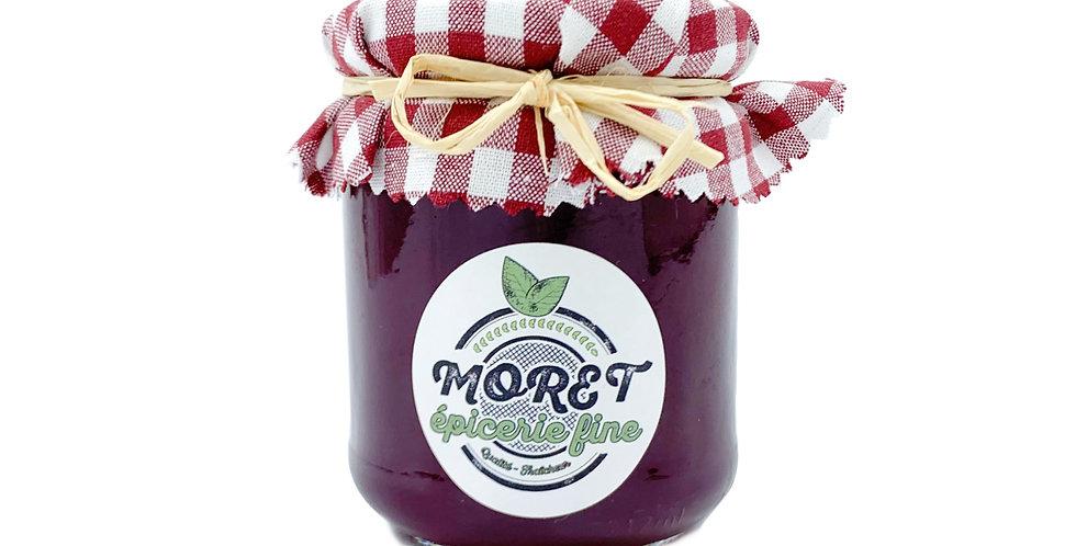 Gelée de raisin framboisé Moret Fruits 200g