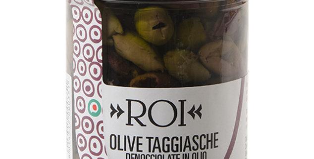Olives dénoyautées ROI 180g