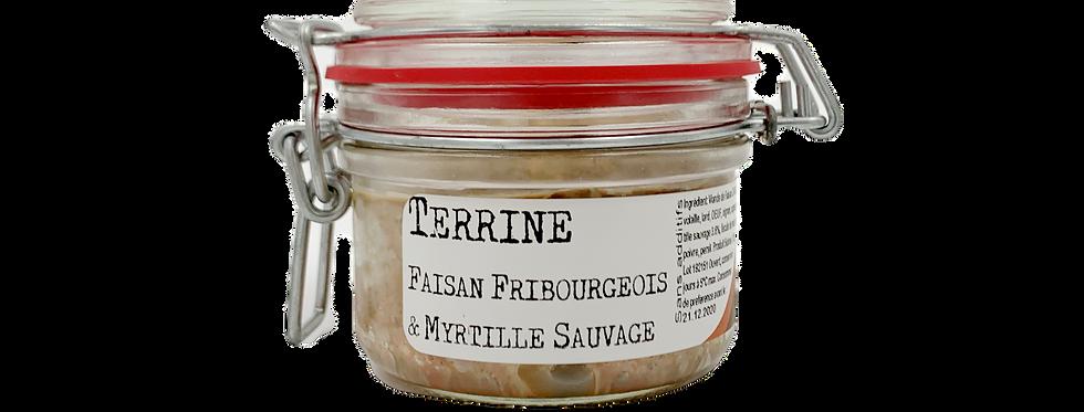 Terrine faisan Fribourgeois et myrtille Chez Denis 125g